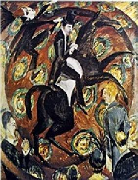 Lithograph Circus Rider - Ernst L. Kirchner