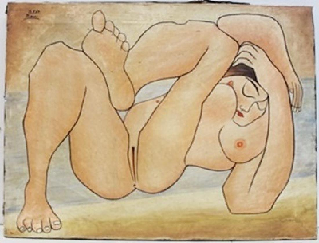 """Oil Painting """"13.7.67""""  Pablo Picasso"""
