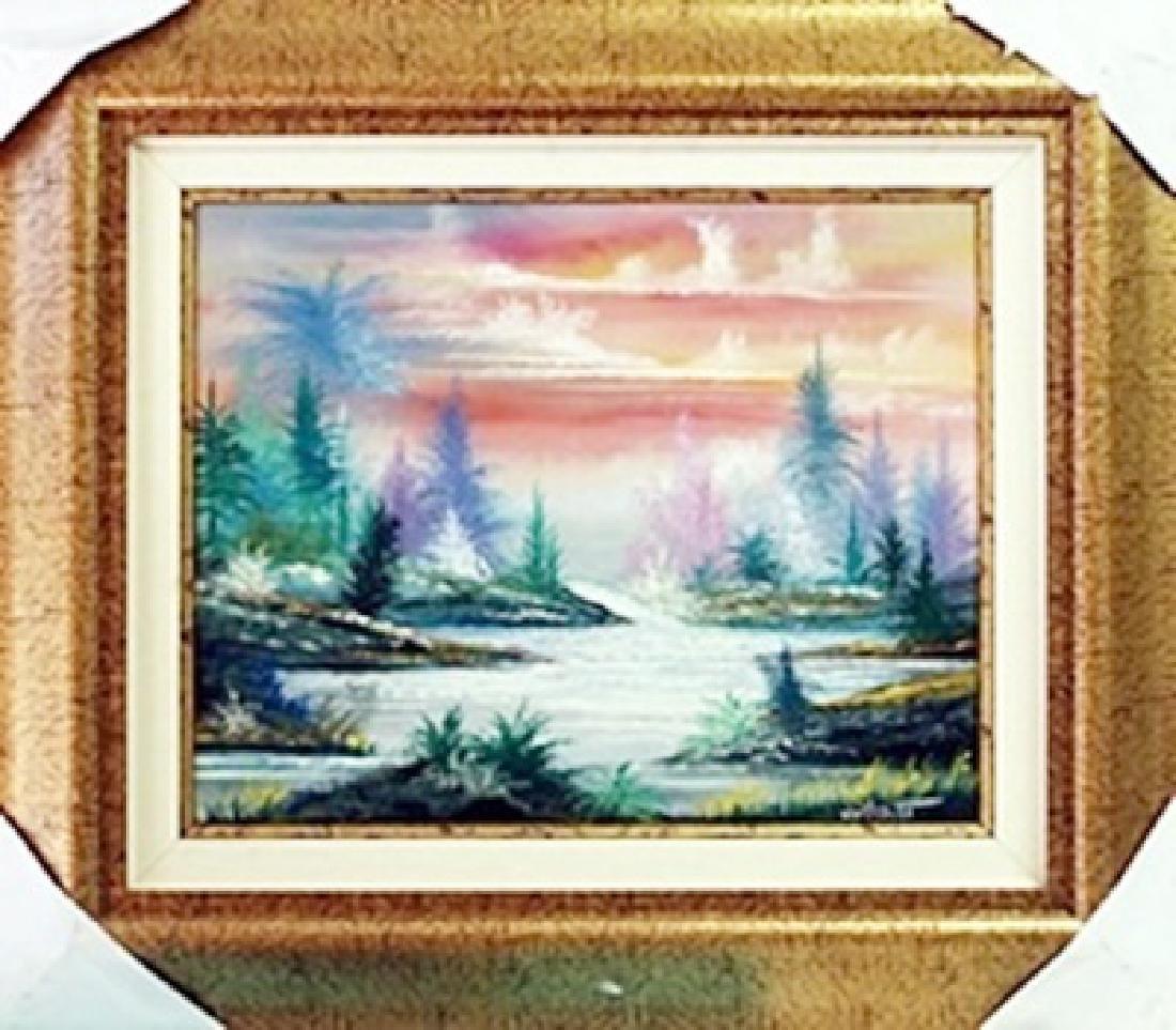 Original Oil Painting on Canvas William Verdult