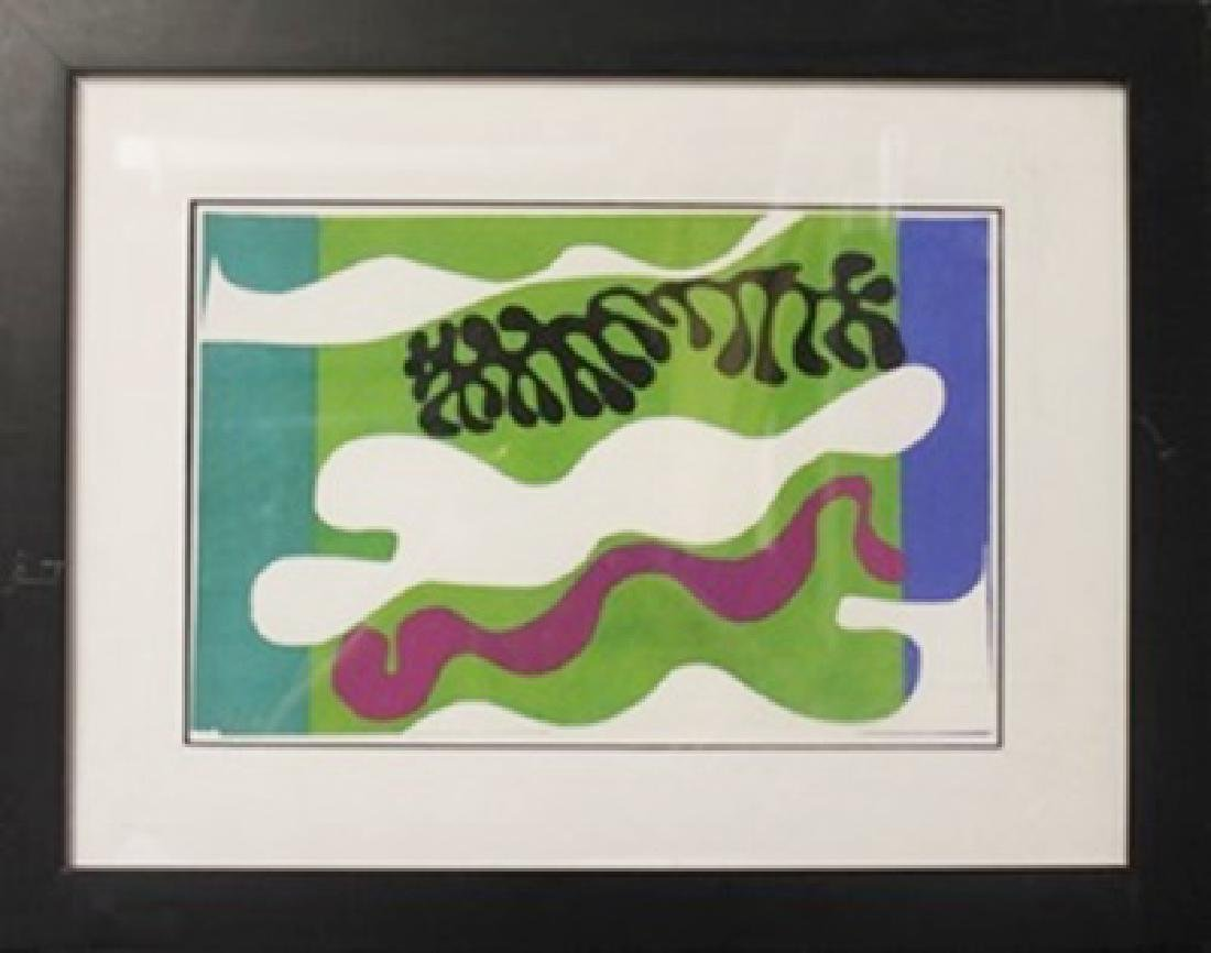"""Lithograph """"Lagoons"""" After  Henri Matisse"""