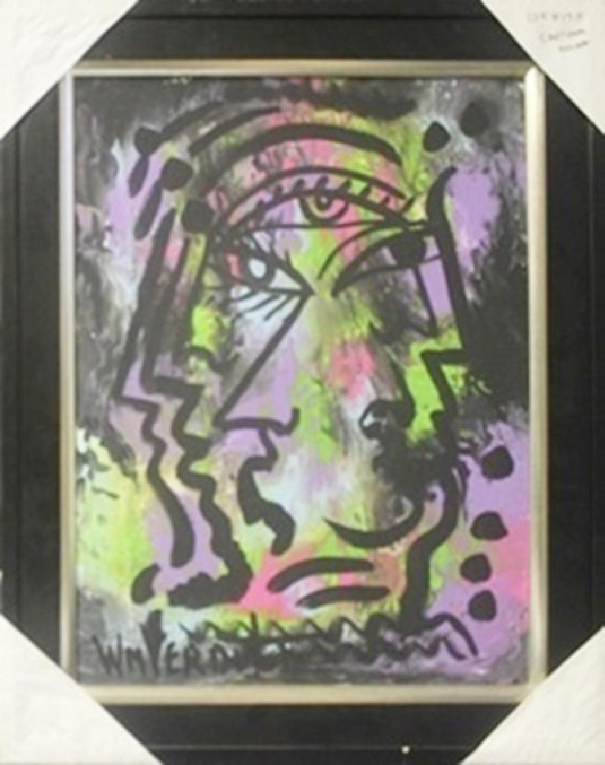 "Original Oil on Canvas ""Emotional Escape""   William"