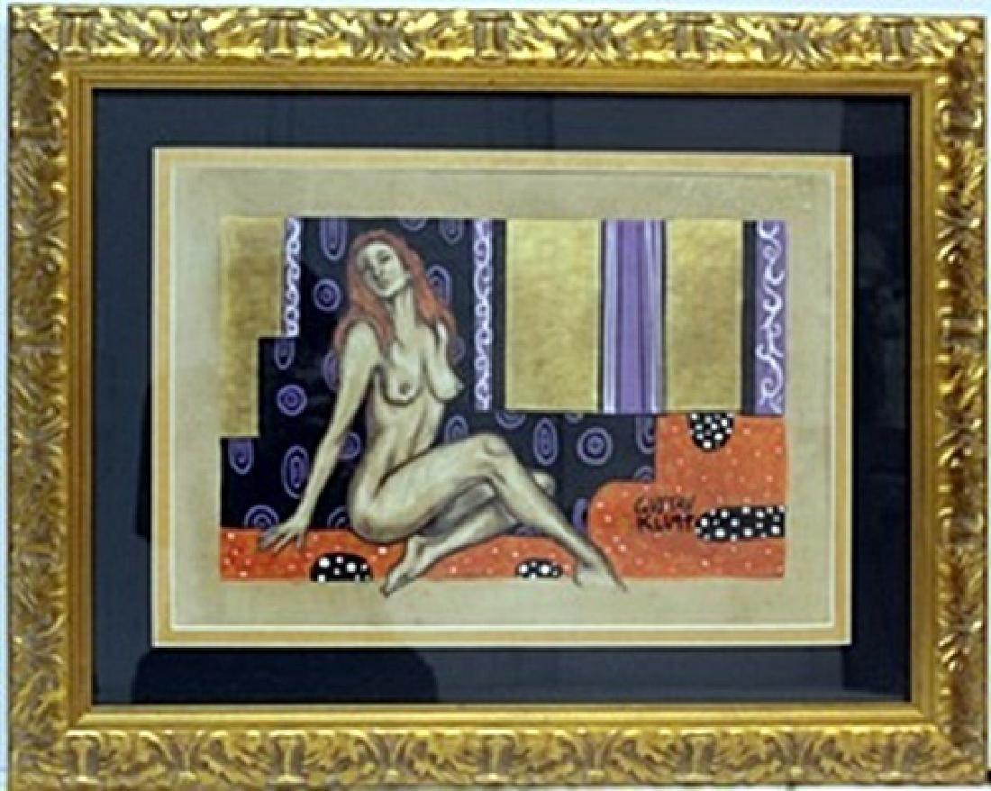 Mixed Media on Paper -  Gustave Klimt