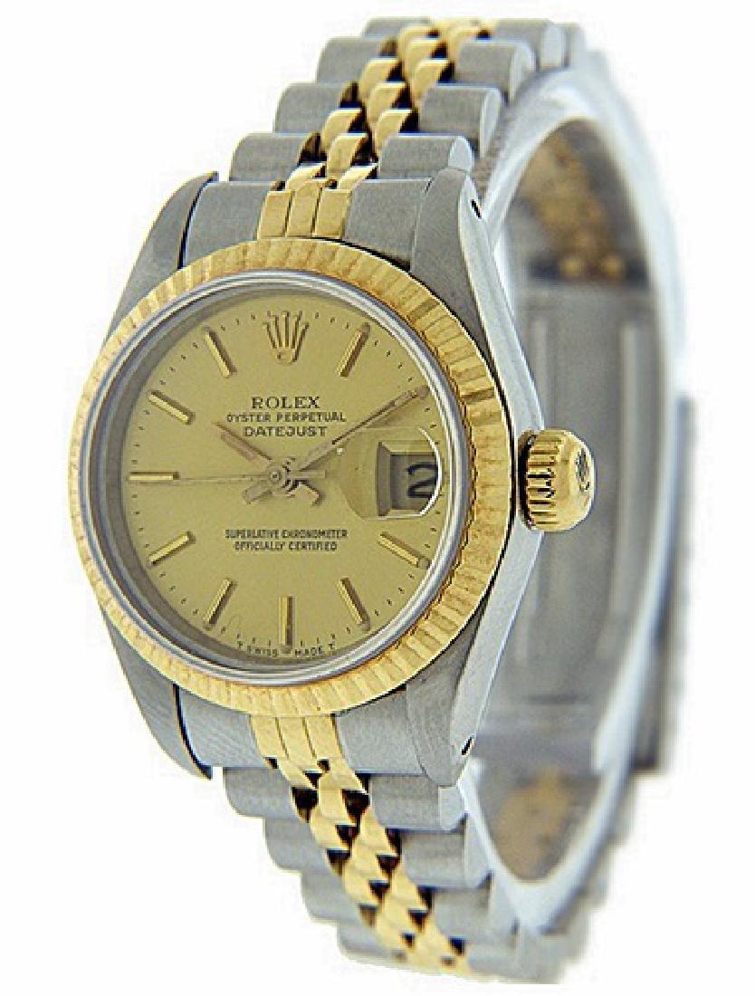 Women's DateJust 18K Gold Rolex