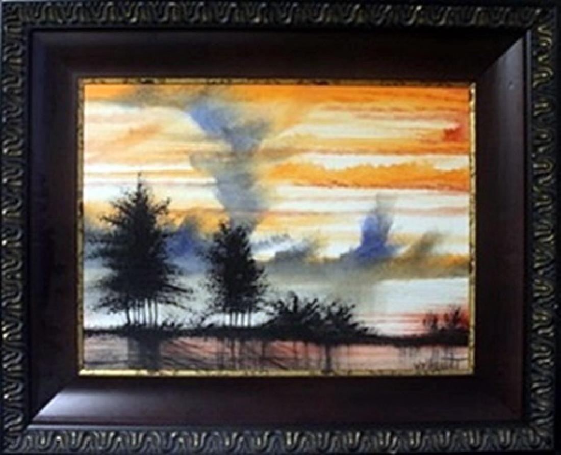 "Original Oil on Canvas ""Lower Land""   William Verdult"