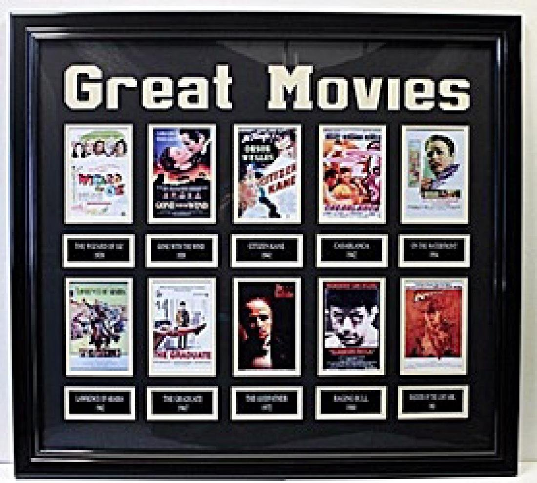 Great Movies - Custom Framed Memorabilia