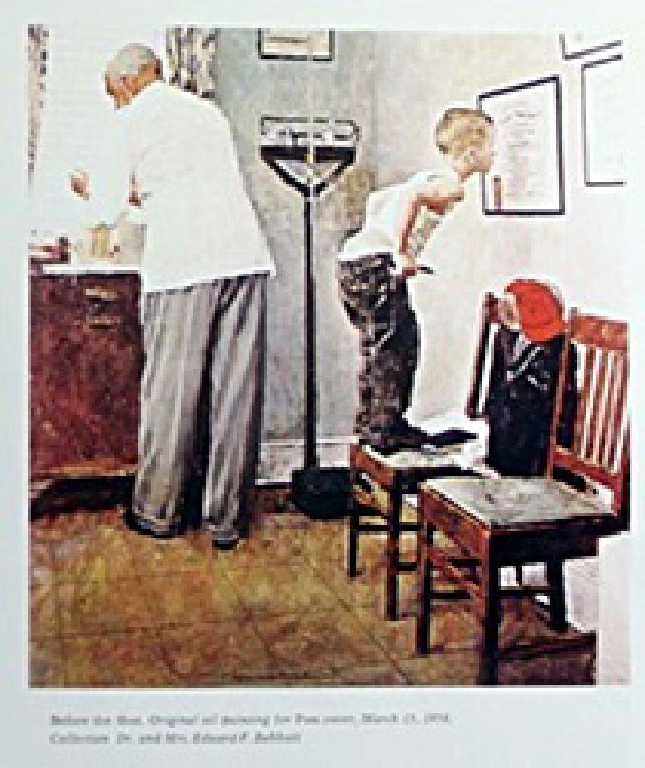 Print Before the Shot - Norman Rockwell