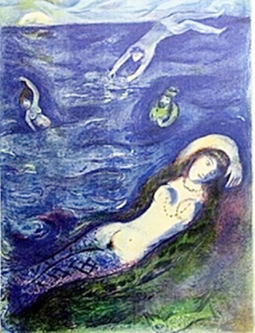 Marc Chagall - - Then I came forth of the sea