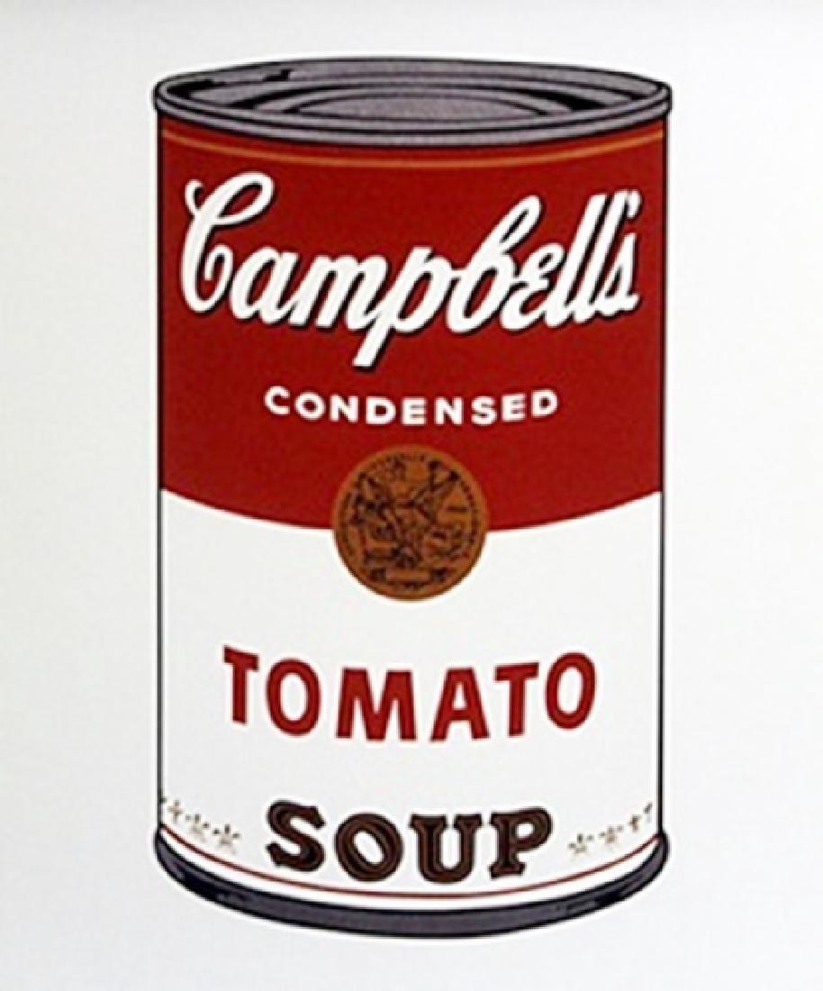 Print Campbells Toamato Soup - Andy Warhol