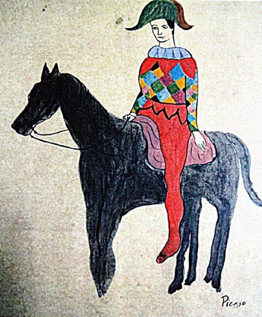 Picasso - Arlequin A Cheval