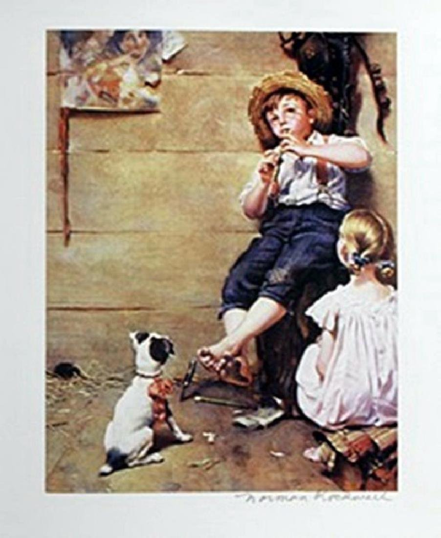 The Music Master Norman Rockwell