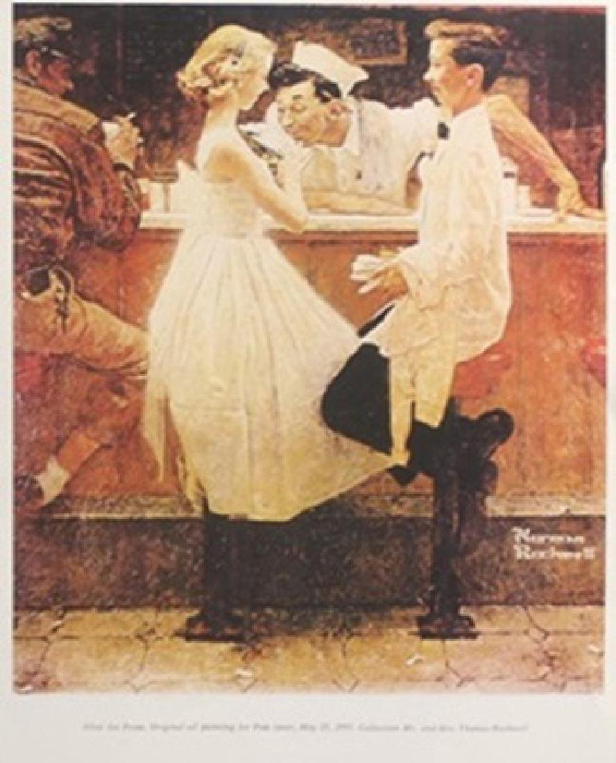 Print - After the Prom - Norman Rockwell