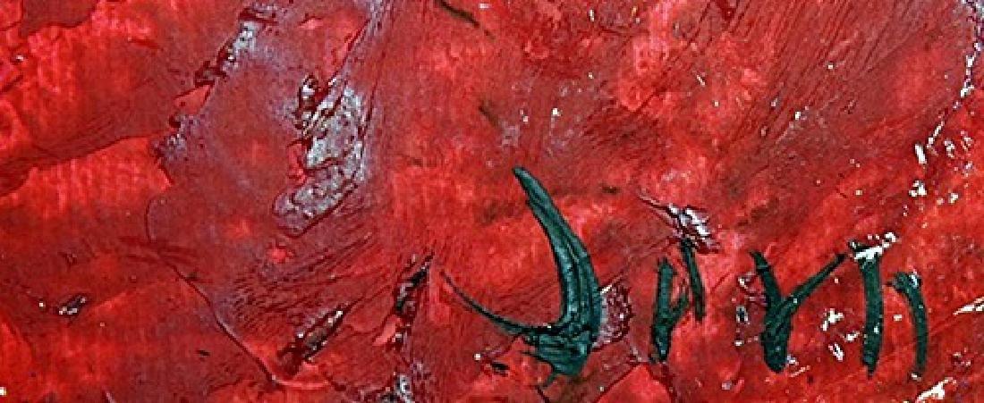 Turtle - Asger Jorn - Oil On Paper - 3