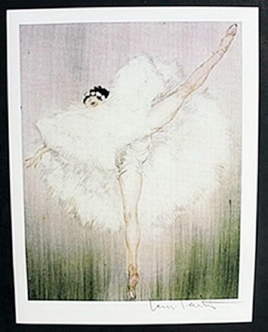 "Lithograph ""Ballet Dance Girl""  Louis Icart"