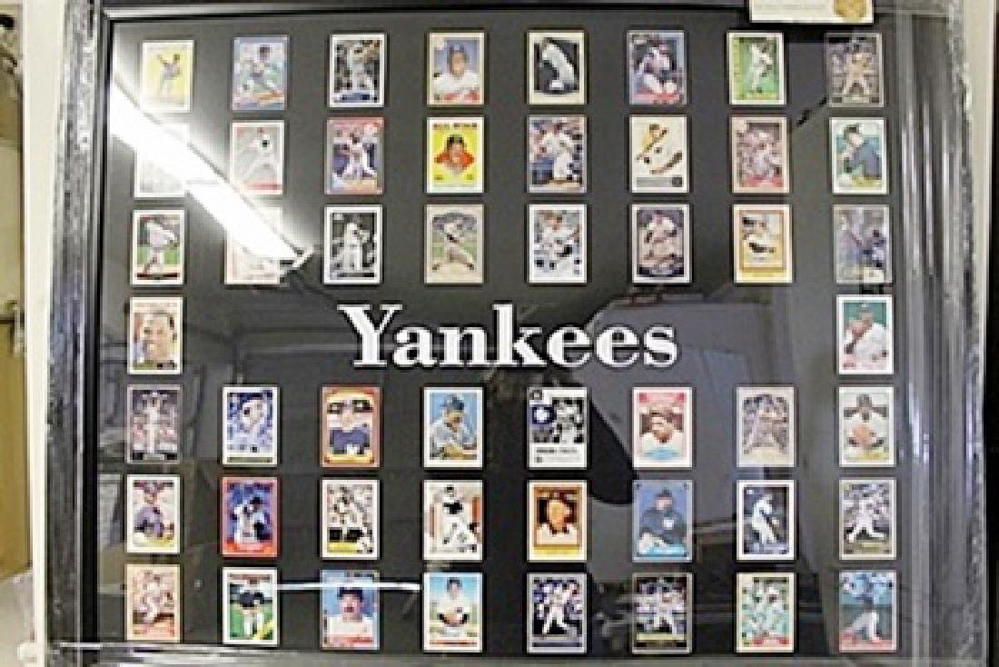 Yankees Framed Collectible