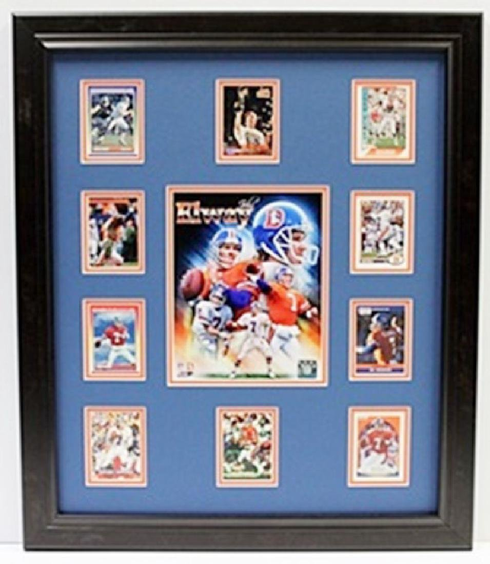 10 Cards with Licensed Photo of ELWAY