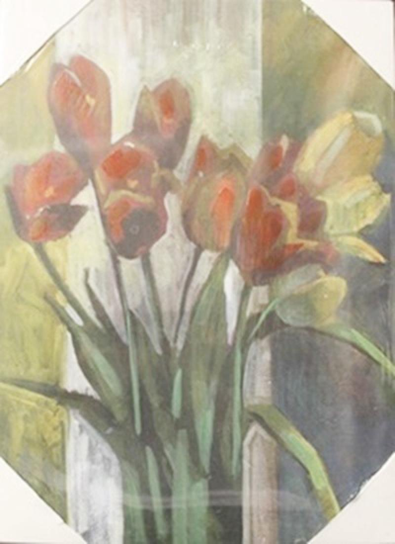 """Giclee on Canvas """"Fresh Flowers"""""""