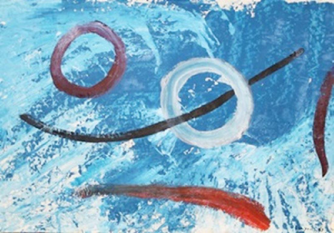 Composition - Peter Lanyon - Oil On Paper