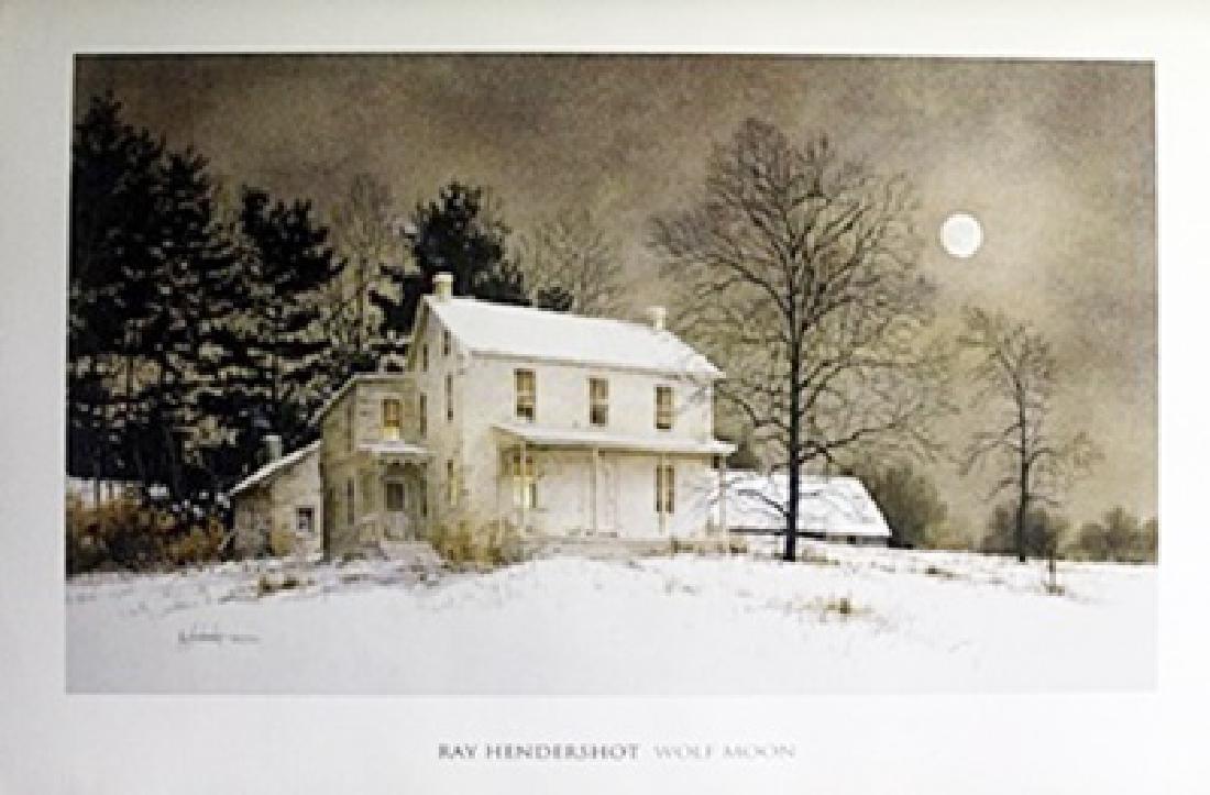 Print - Wolf Moon - Ray Hendershot