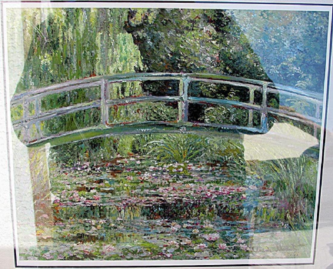 Japanese Bridge - Claude Monet - Lithograph