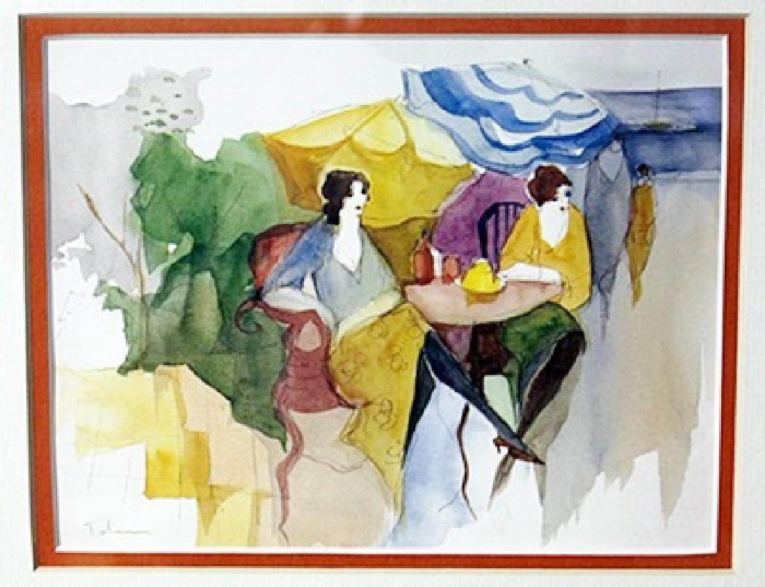 """""""TEA IN THE GARDEN"""" by ITZCHAK TARKAY"""