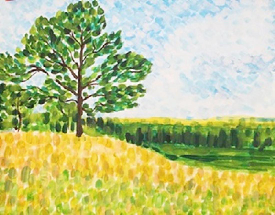 Watercolor On Paper - Maximilien Luce