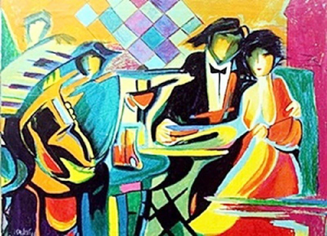 """""""The Jazz Club"""" Giclee by Phillip Maxwell"""