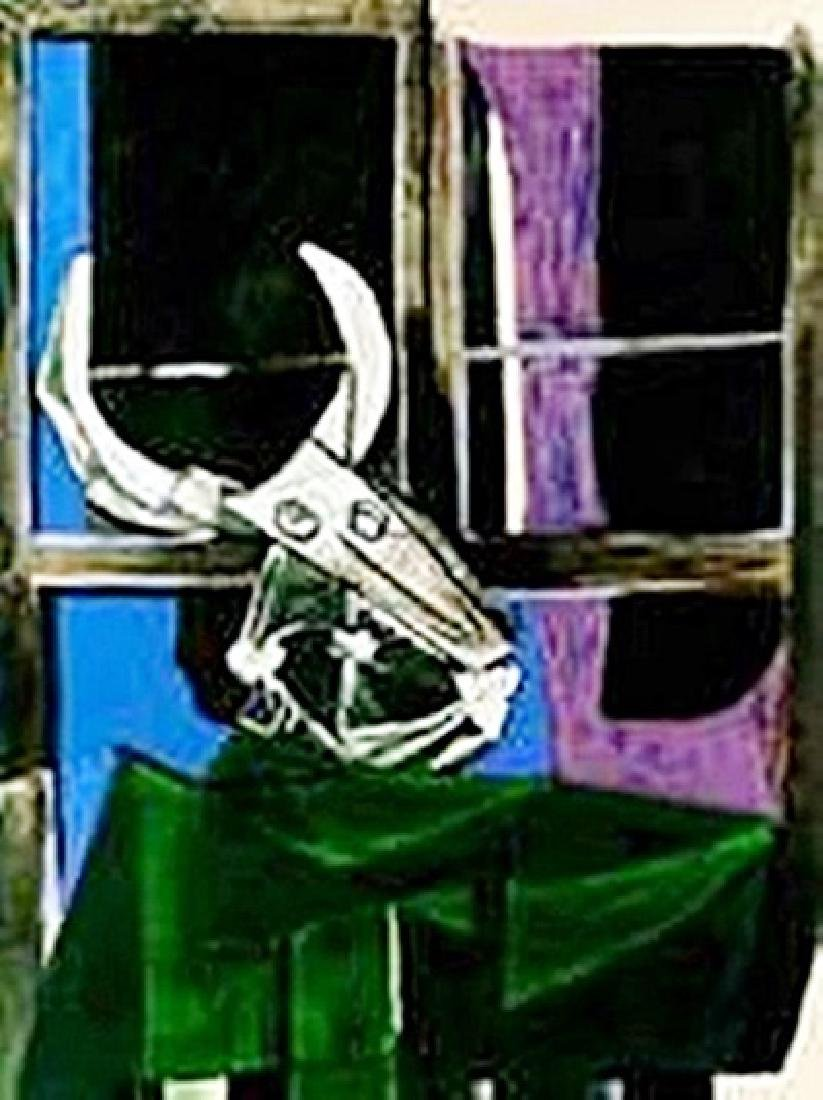 Still life with steer skull-Collection Domaine Picasso