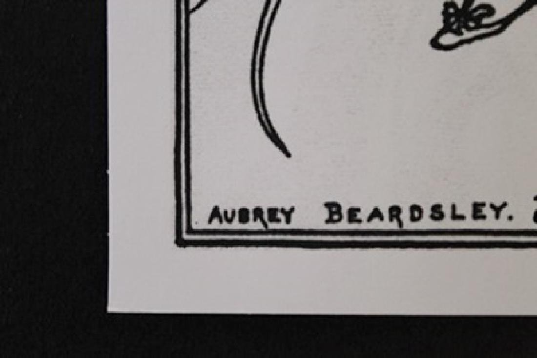 Lithograph By Aubrey Beardsley - 2