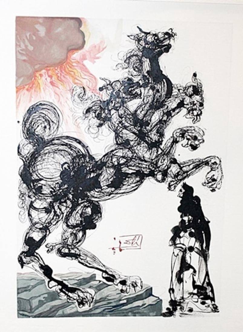Dali - Hell Canto 6 - The Divine Comedy