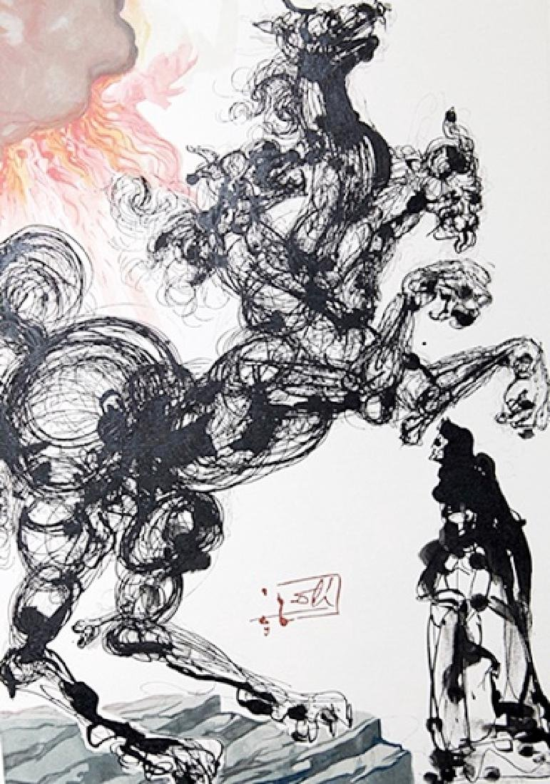 Dali - Hell Canto 6 - The Divine Comedy - 2