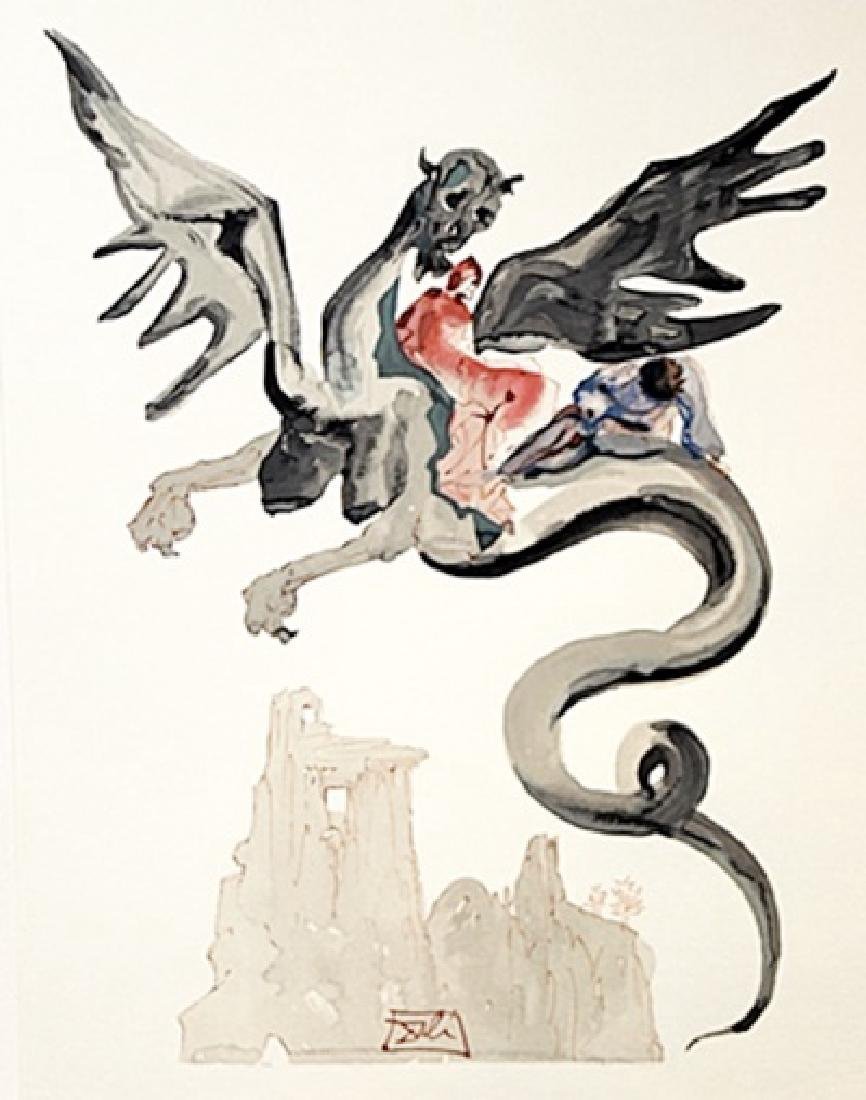 Dali - Hell Canto 17 - The Divine Comedy