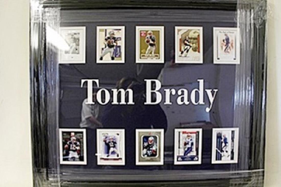 Tom Brady Framed Collectible