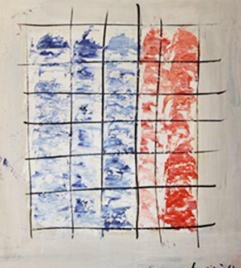 The Jail - Jean Fautrier - Oil On Paper