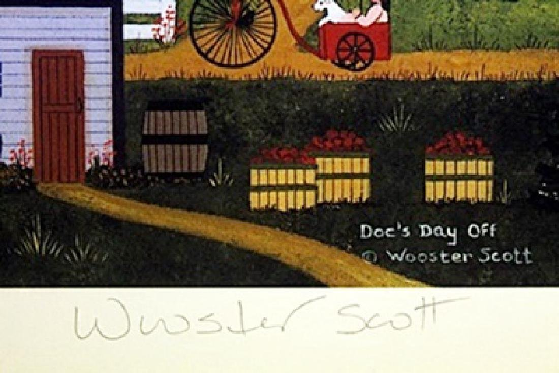 Lithograph - Doc's Day Off - Wooster Scott - 2