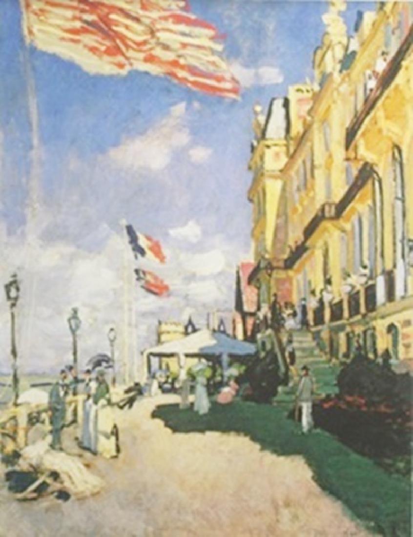 Hotel de Roches Noires, Trouville - Claude Monet