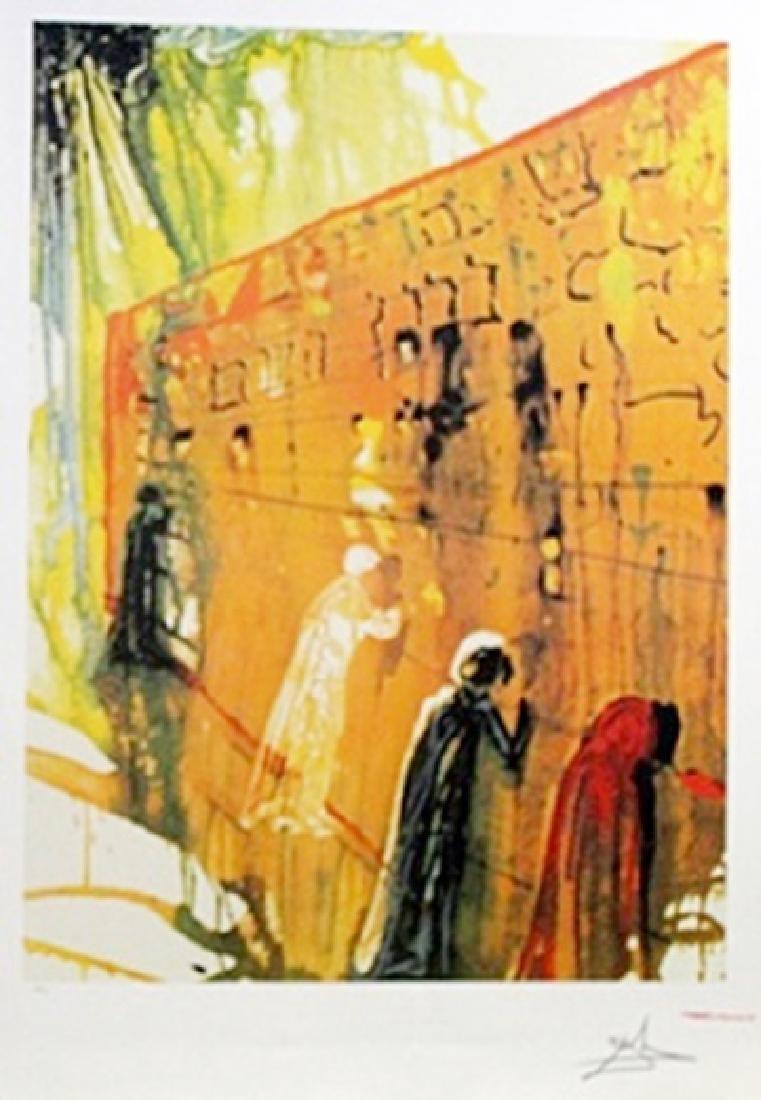 The Wailing Wall - Salvador Dali