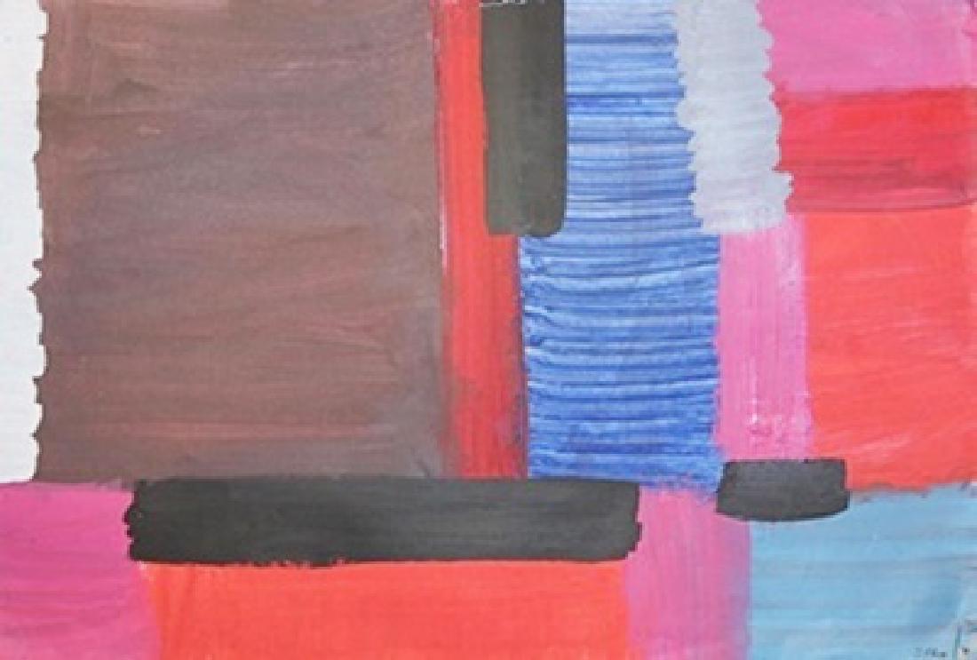 Composition - Roger Hilton - Oil On Paper