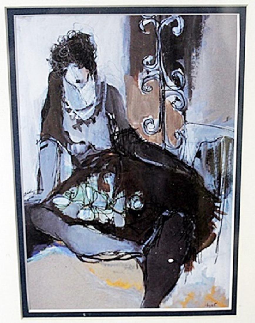 """""""LADY IN BROWN"""" by ITZCHAK TARKAY"""