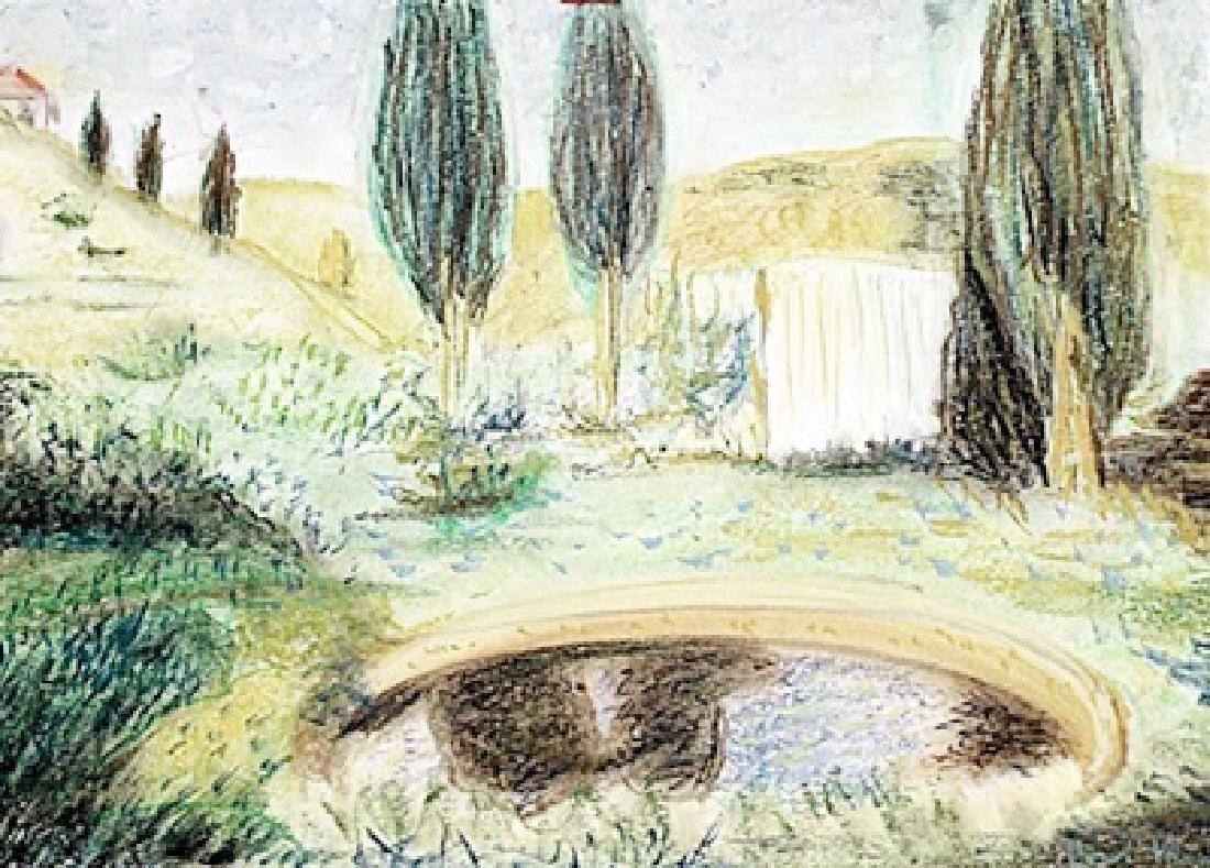 Pastel On Paper - Henri Martin