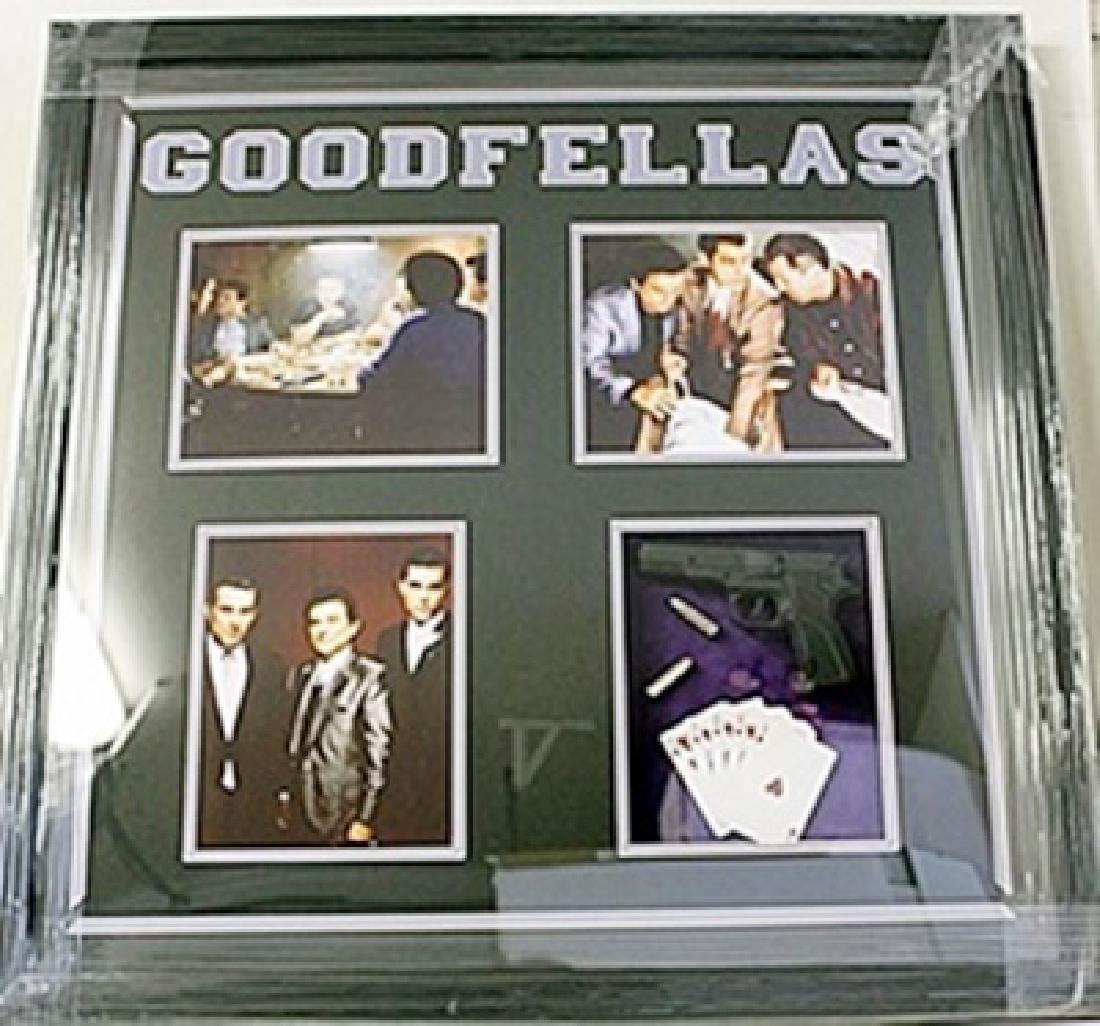 Good Fellas Giclee with Gun, Bullets and Cards HE5071