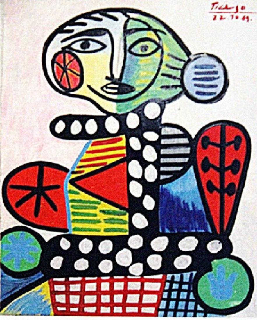 Pablo Picasso - Woman III