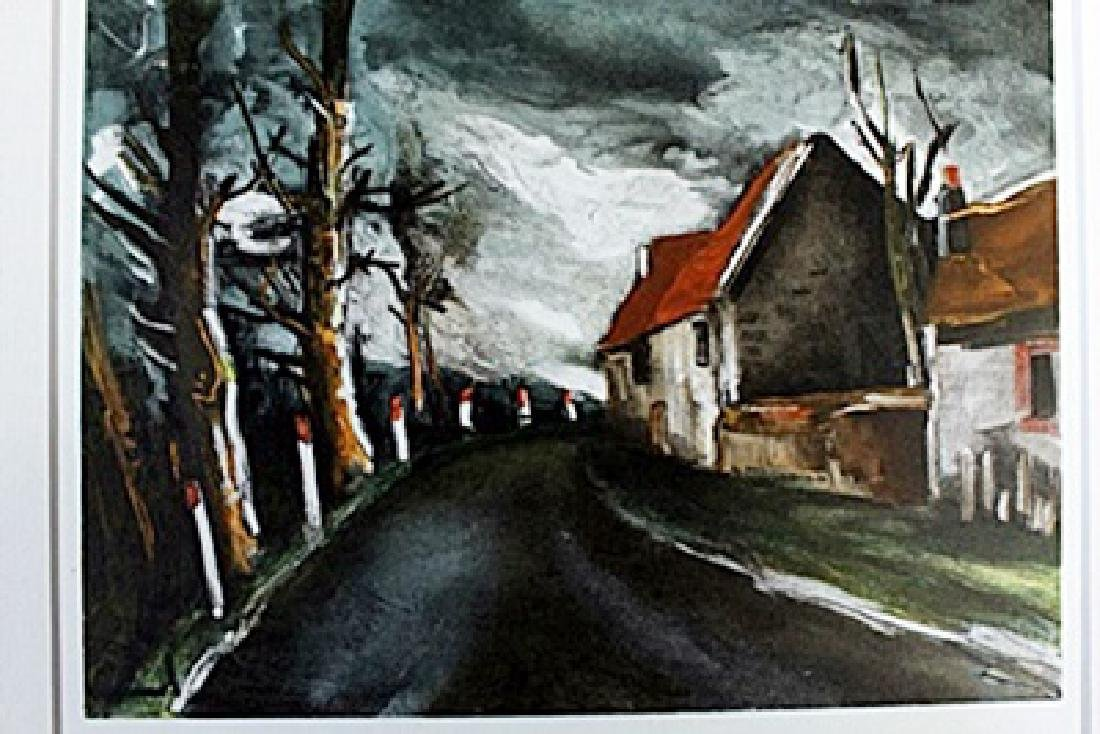 """The Long Road"" Lithograph by Valmic"