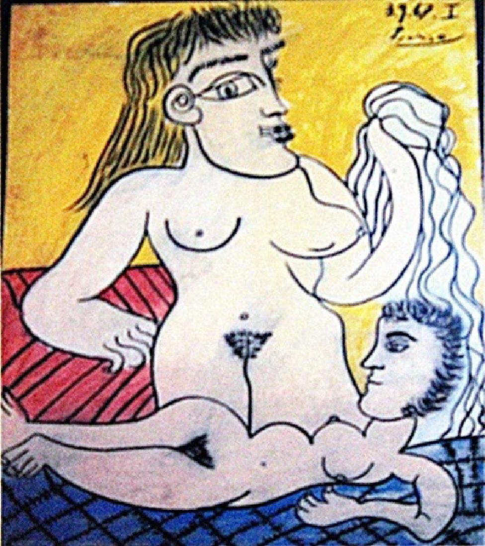 Pablo Picasso - The Lovers