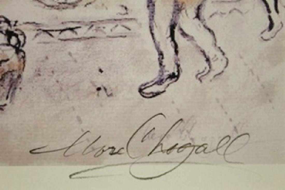 Lithograph After  Marc Chagall - 2