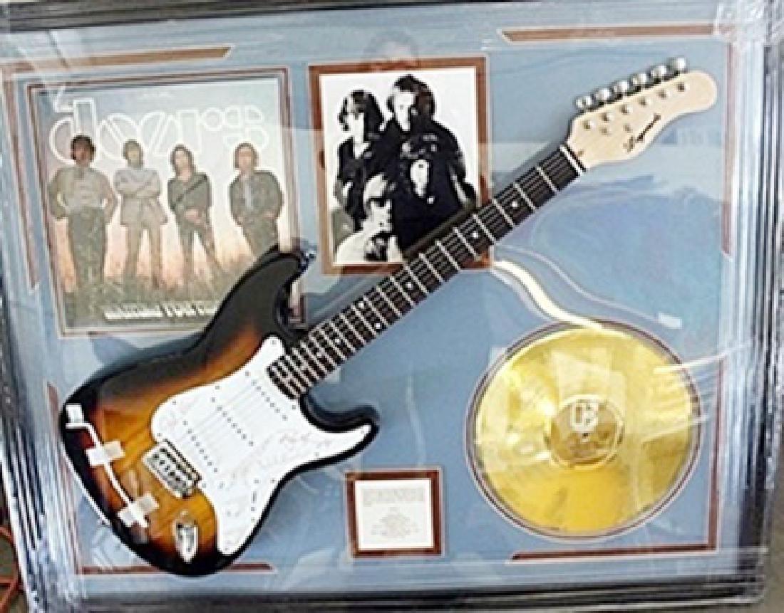 The Doors Signed Guitar & Memorabilia