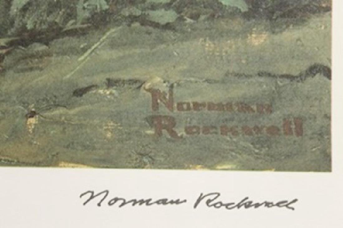 Lithograph Outward Bound - Norman Rockwell - 2
