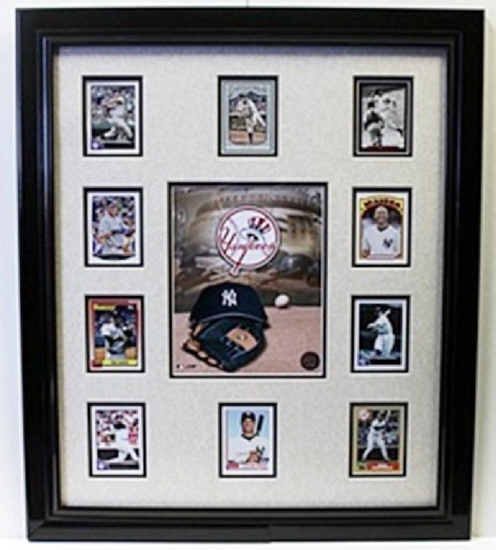 The Yankees Licensed Photo with 10 Authentic Player
