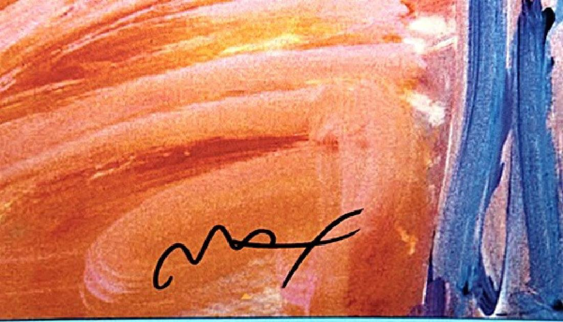 Peter Max Signed Lithograph - Statue of Liberty 2000 - 3