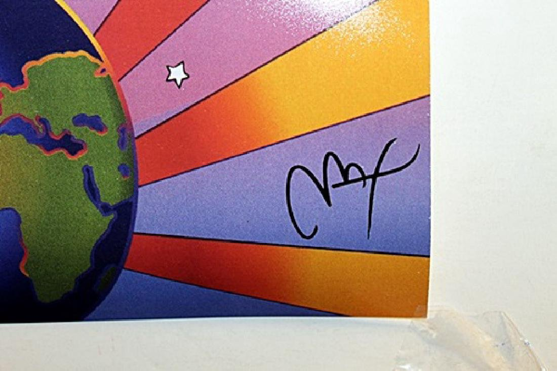 Peter Max Signed Lithograph - Earth Day 2000 - 3