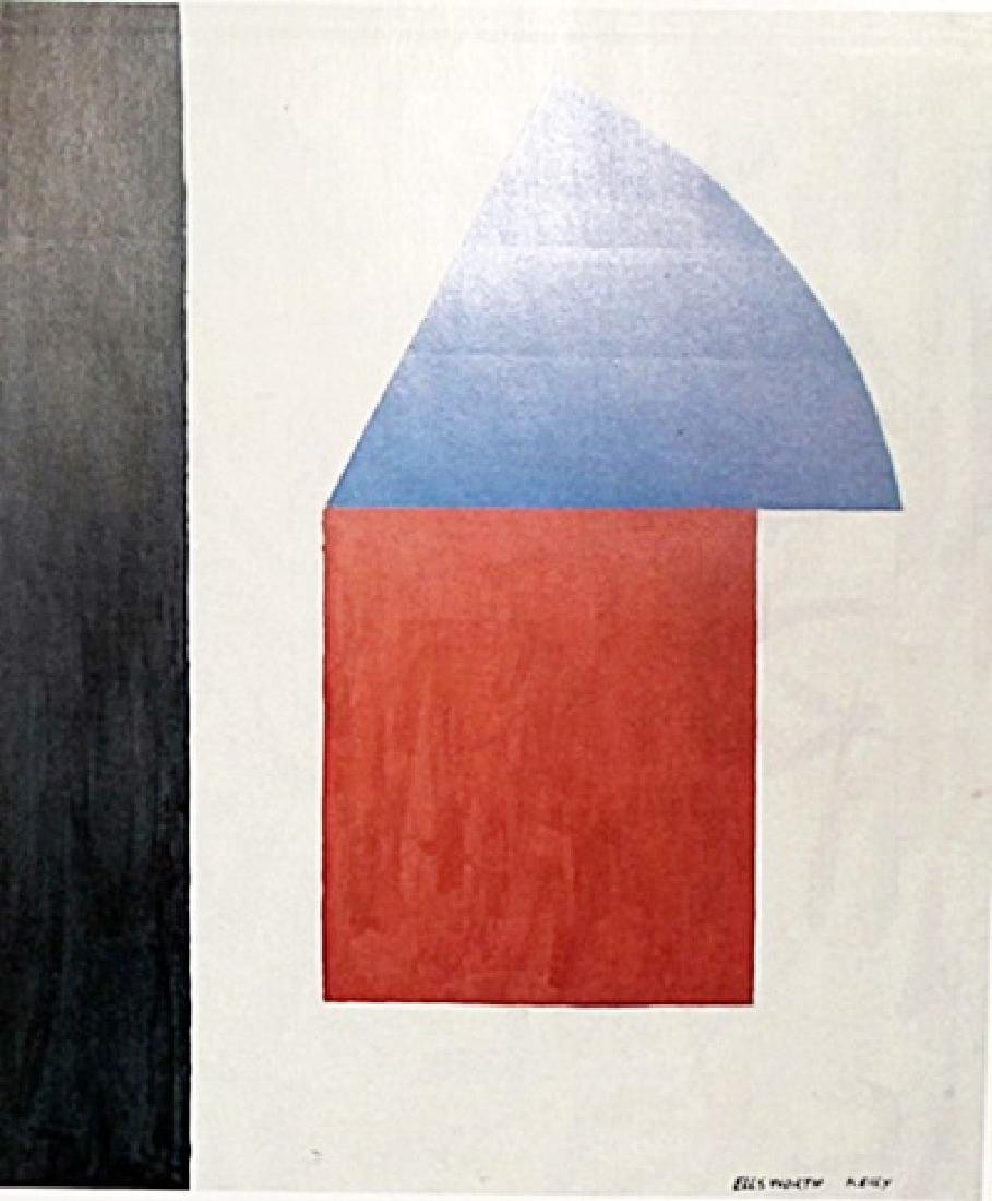 Ellsworth Kelly - Oil on Paper